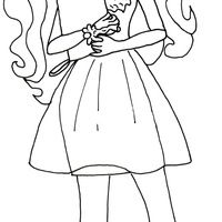 Desenho de Rosabella Beauty de Ever After High para colorir