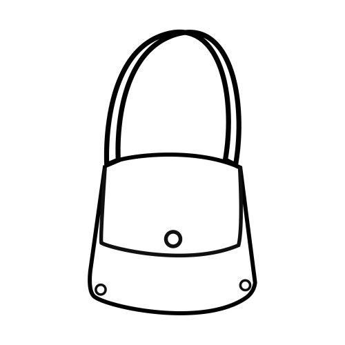Desenho De Bolsa De Alca Pequena Para Colorir Tudodesenhos