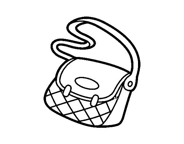 Desenho De Bolsa Carteiro Para Colorir Tudodesenhos