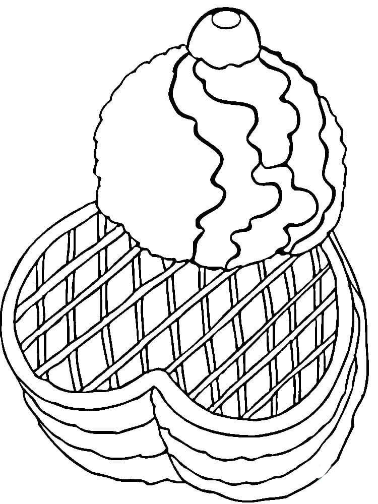 how to draw a waffle
