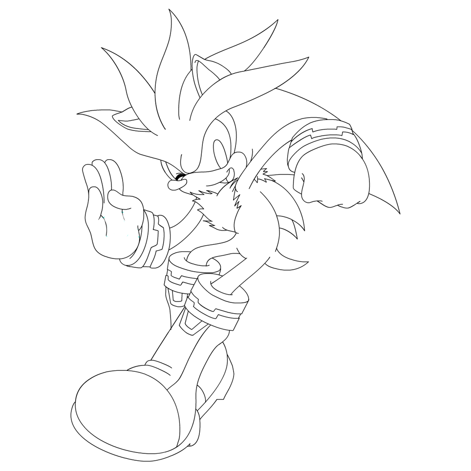 Amy And Sonic The Hedgehog Coloring Pages