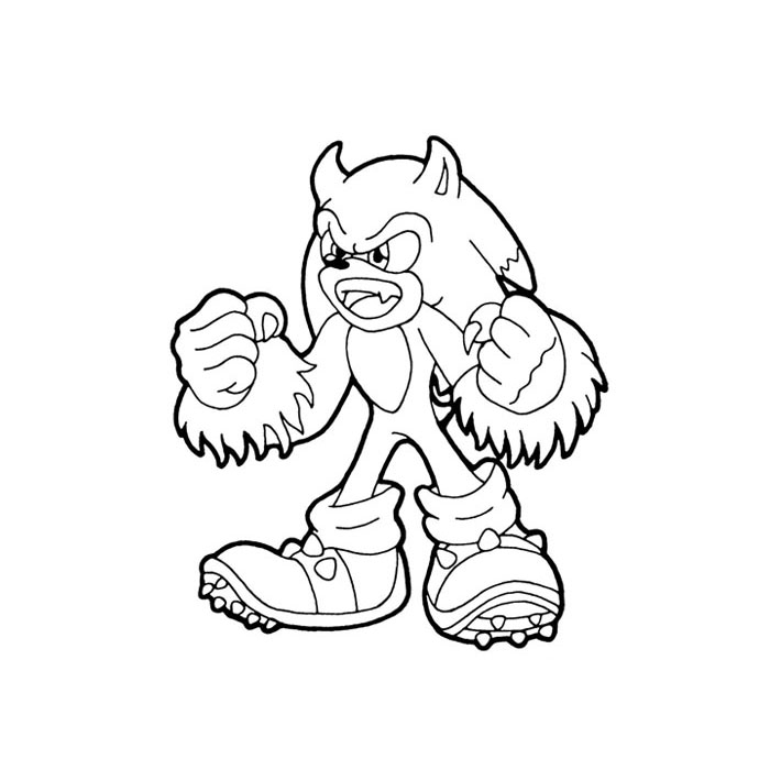 Metal Sonic Coloring Pages Coloring