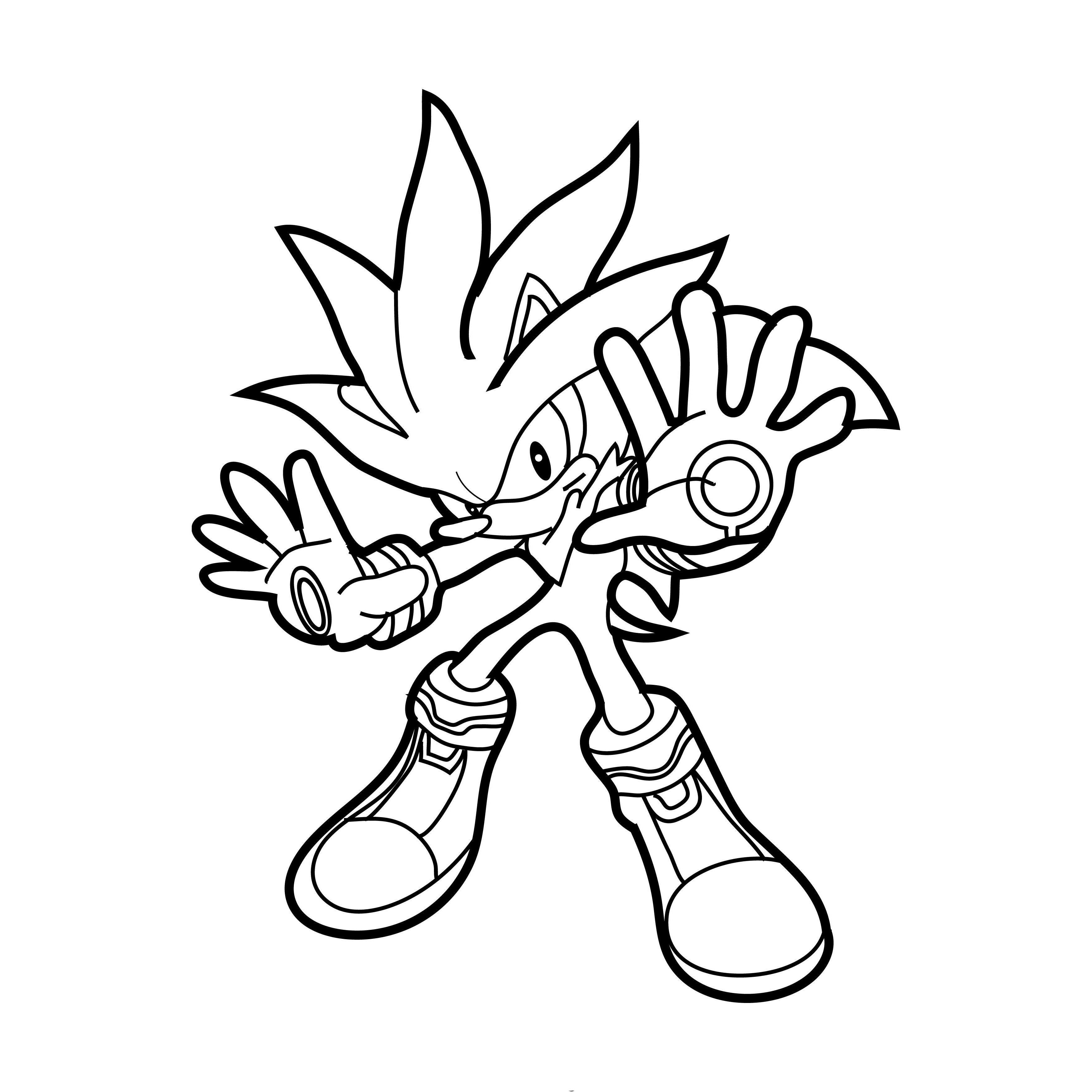 desenhos de sonic para colorir tudodesenhos