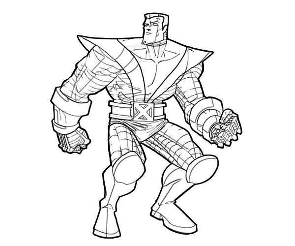 coloring book pages x man - photo#25