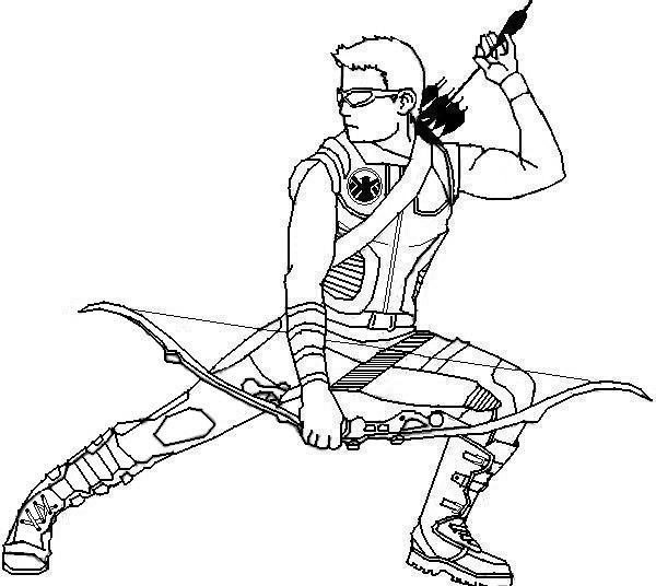 hawk guy coloring pages - photo#15