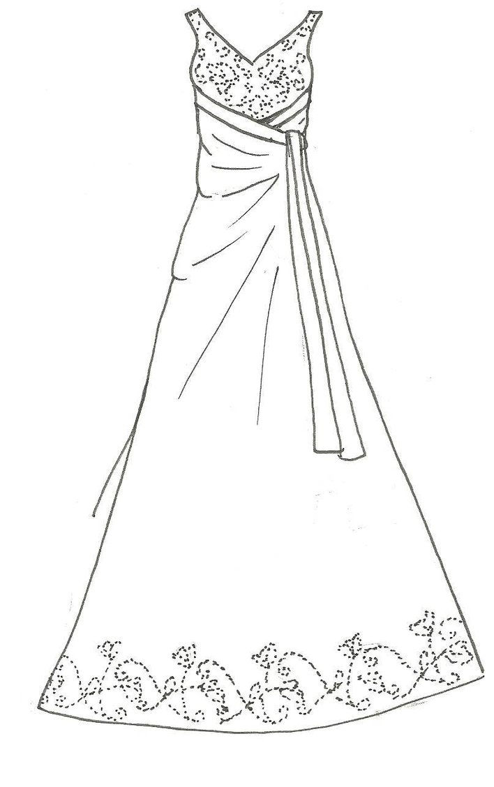 Design Your Own Outfit Coloring Pages