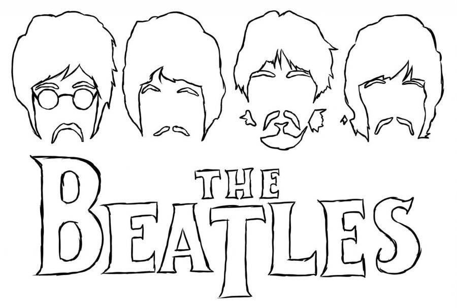 The Beatles Coloring Page - Pagina - 1 2 3 - MTM