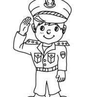 Desenho De Mascara De Policial Para Colorir Tudodesenhos