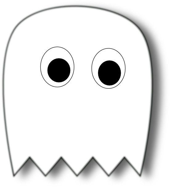 Desenho de Fantasma do PacMan