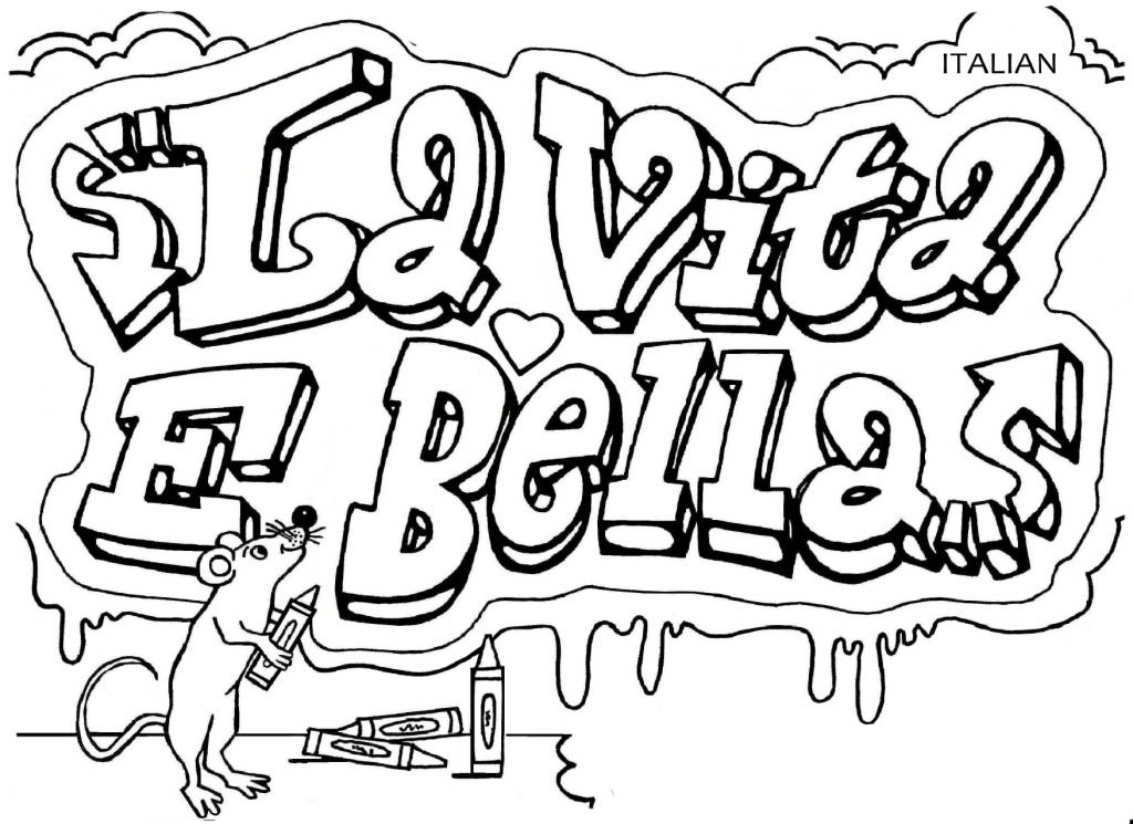 italy free coloring pages kids - photo#17