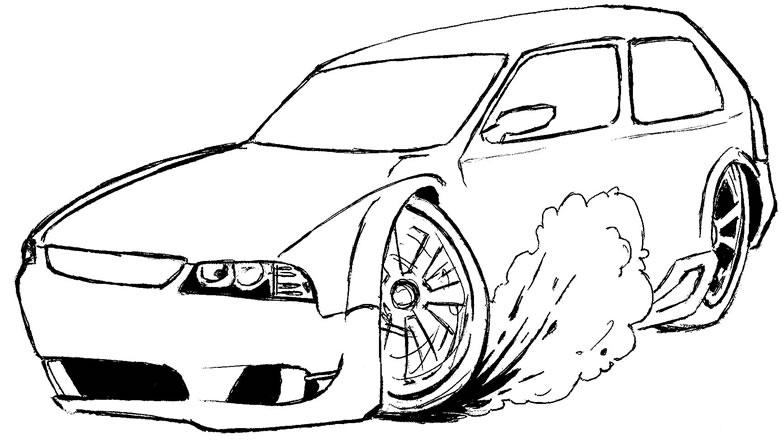 15 Desenhos De Carros Coloridos Para Imprimir Melhores