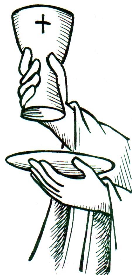 Desenho De Rito Eucaristico Para Colorir Tudodesenhos