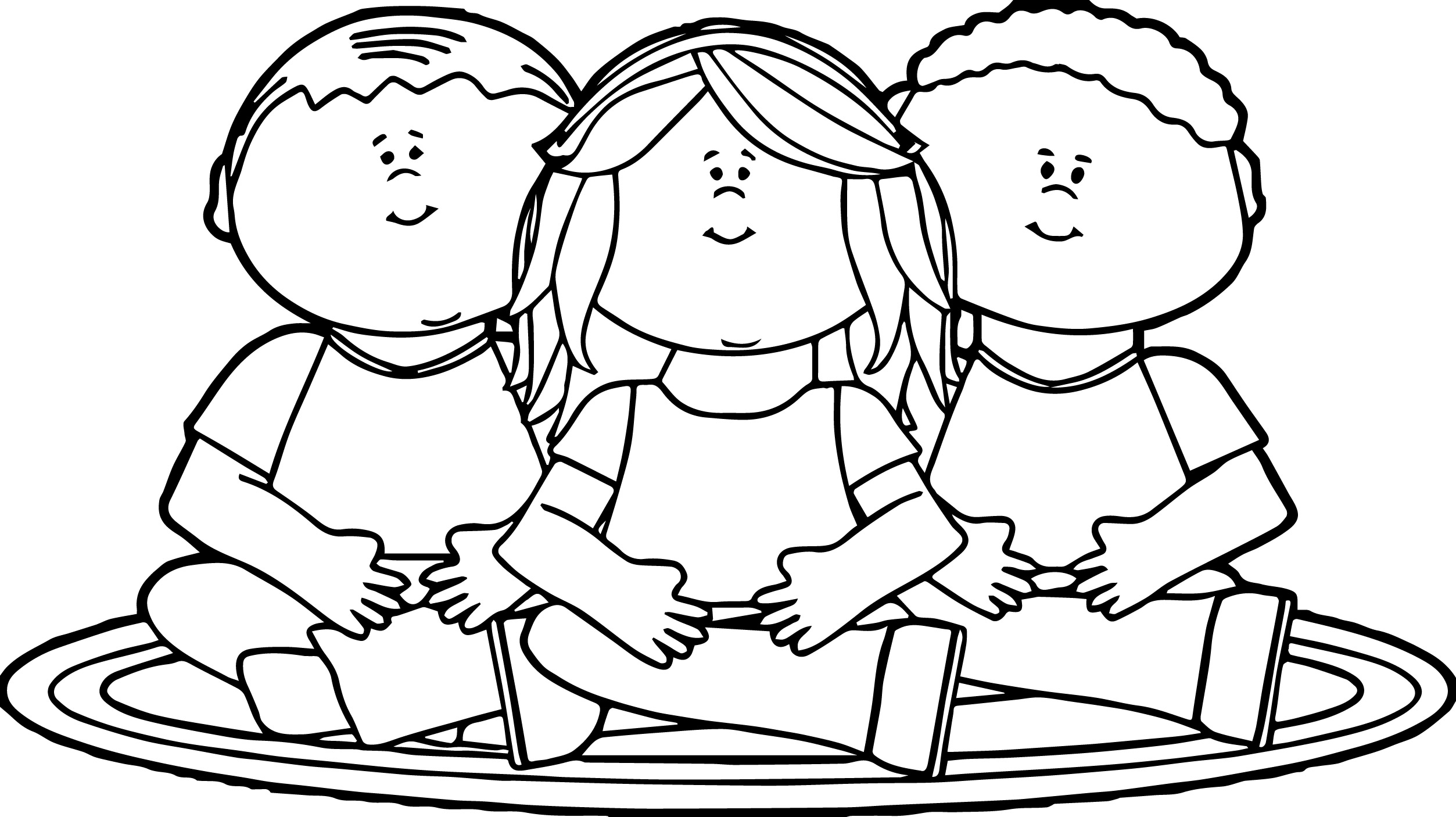 at school children coloring pages - photo#30
