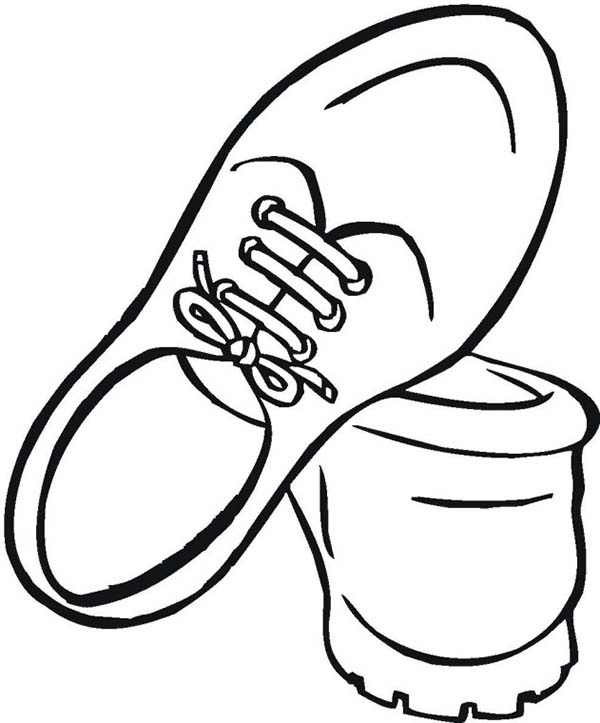 how to draw school shoes