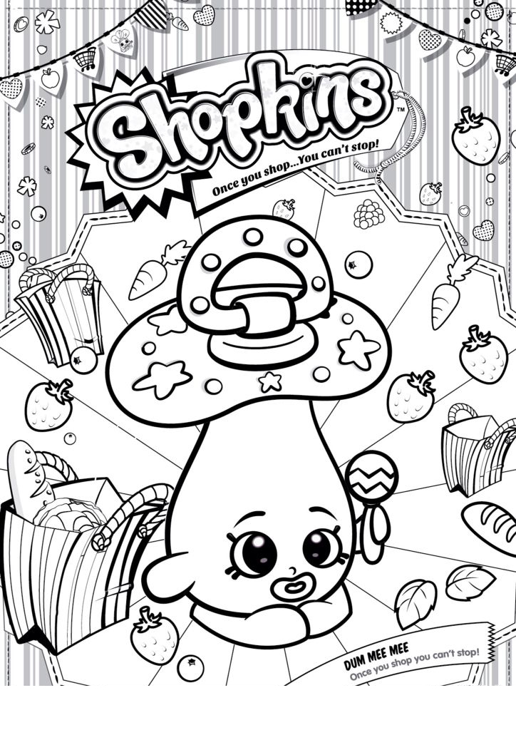 shopkins coloring pages free games - photo#8