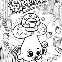 desenho de shopkins maçã para colorir tudodesenhos