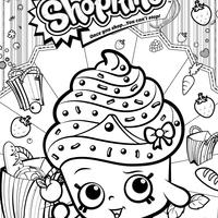 desenho de shopkins sunday para colorir tudodesenhos