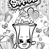 Desenhos De Shopkins Para Colorir Tudodesenhos