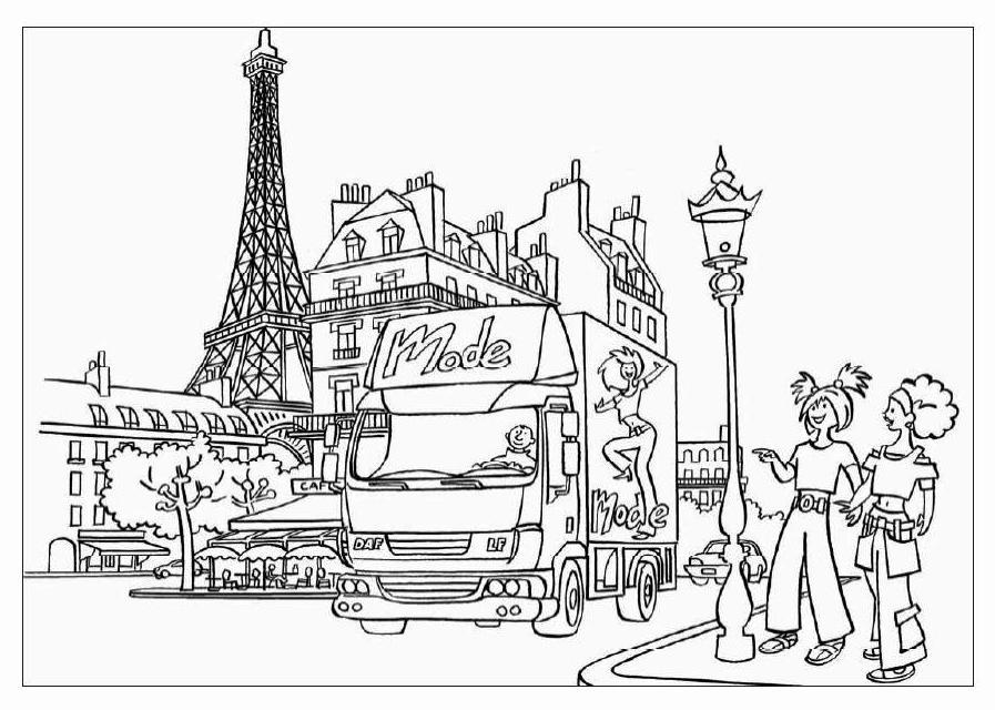 Desenho De Monumento Franc 234 S Para Colorir Tudodesenhos
