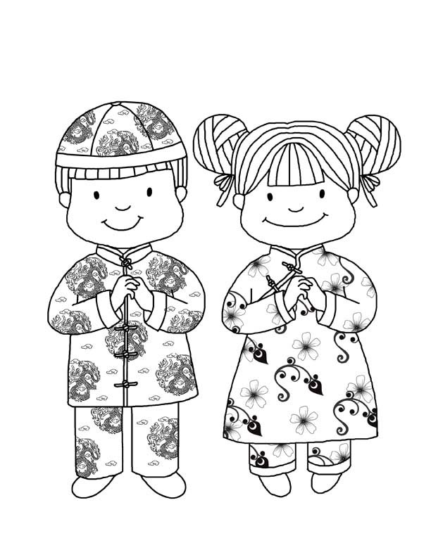 coloring pages ancient chinese houses - photo#40