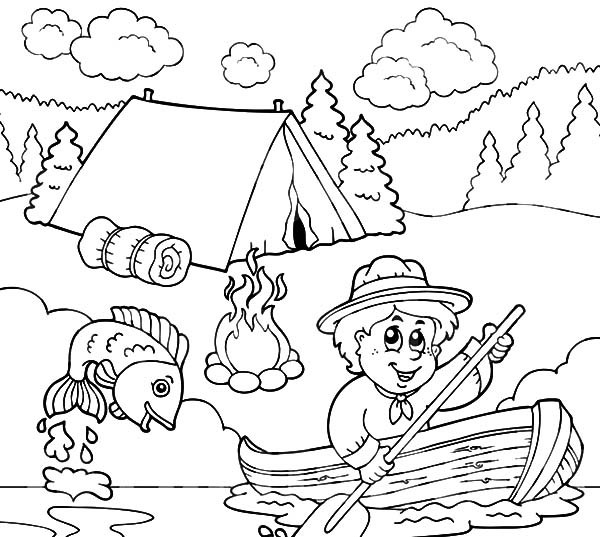 fish themed coloring pages - photo#7