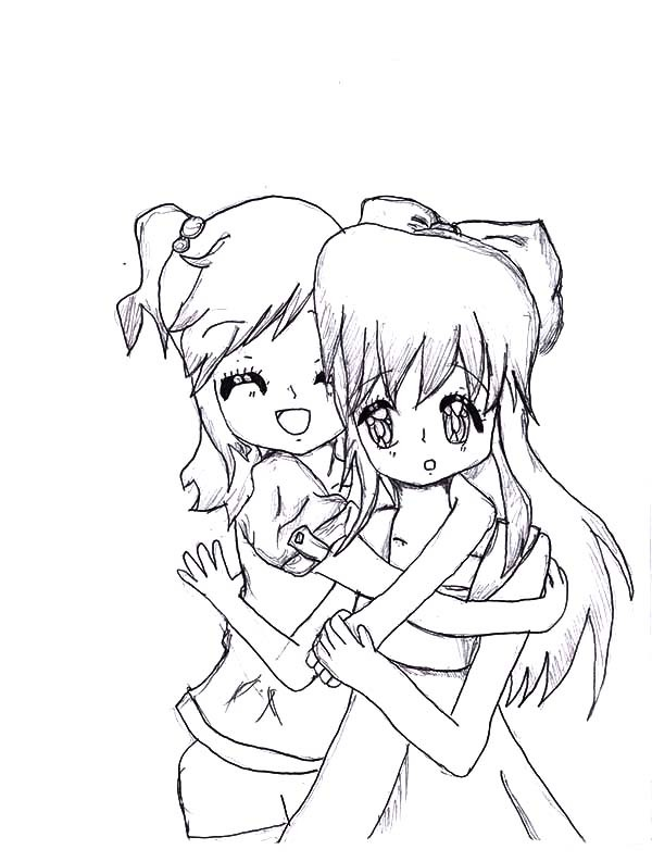 Your My Bff Coloring Page