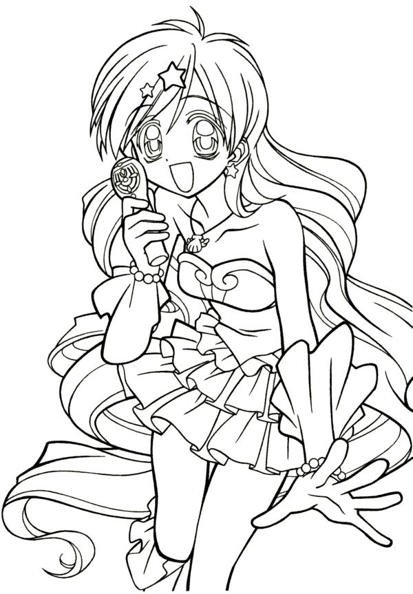Desenho De Anime Animacao Para Colorir Tudodesenhos