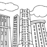 Desenhos De Cidade Para Colorir Tudodesenhos