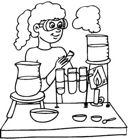 Desenho De Laboratorio Medico Para Colorir Tudodesenhos