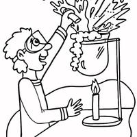 desenhos de cientista para colorir tudodesenhos