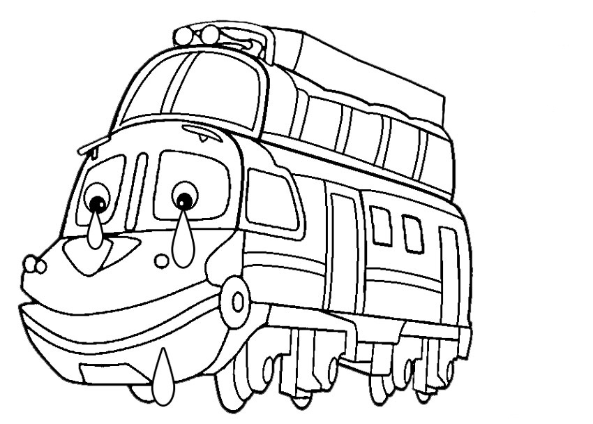 Desenhos de Chuggington para colorir, pintar e imprimir - Tudodesenhos