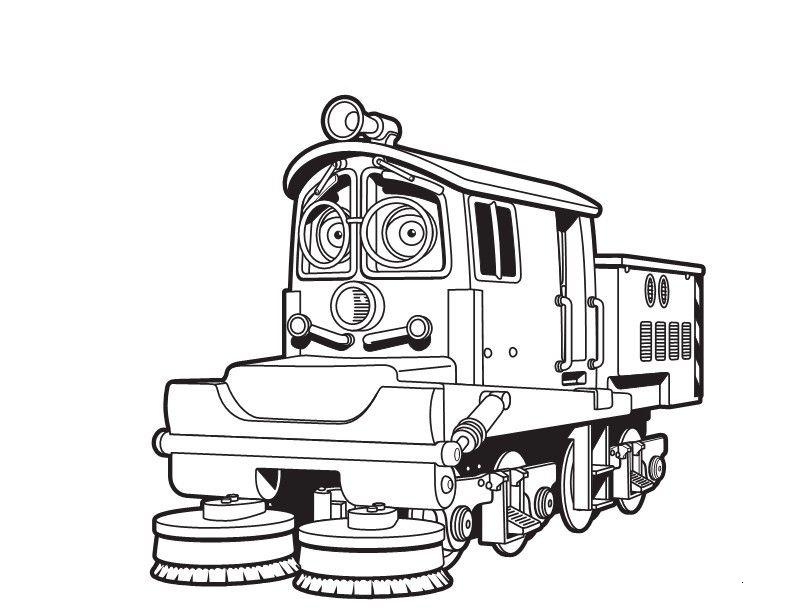 Desenho de irving de chuggington para colorir tudodesenhos for Disney chuggington coloring pages