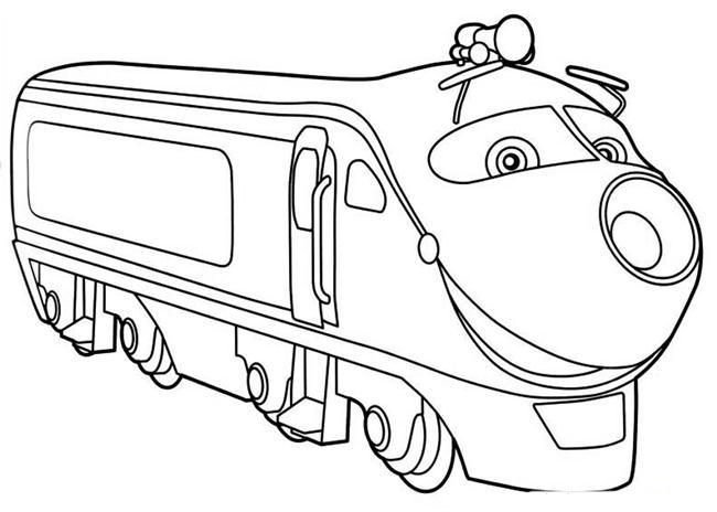 Desenho de Locomotiva Koko de Chuggington para colorir - Tudodesenhos
