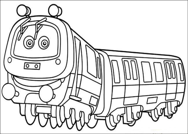 Desenho de Trem de Chuggington para colorir - Tudodesenhos
