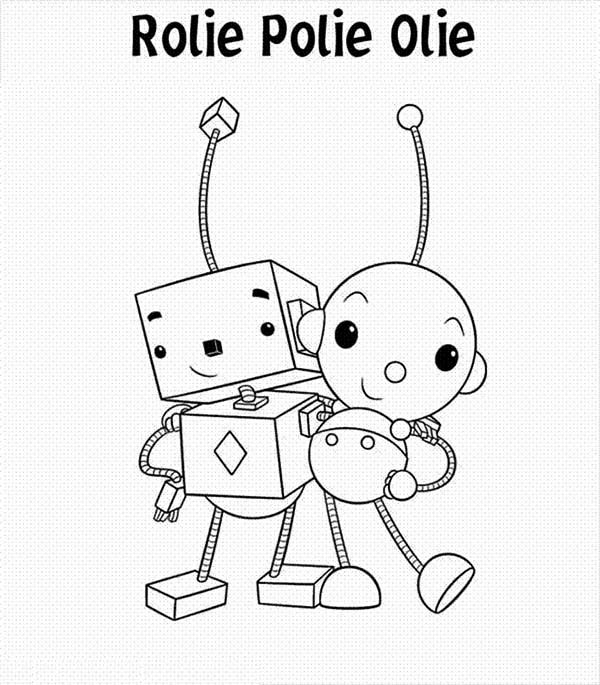 Rolie Polie Olie Coloring Pages