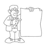 desenhos de profissões para colorir tudodesenhos