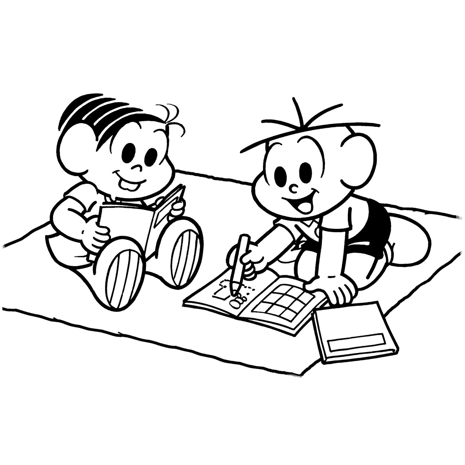 Desenho De Leitura E Escrita