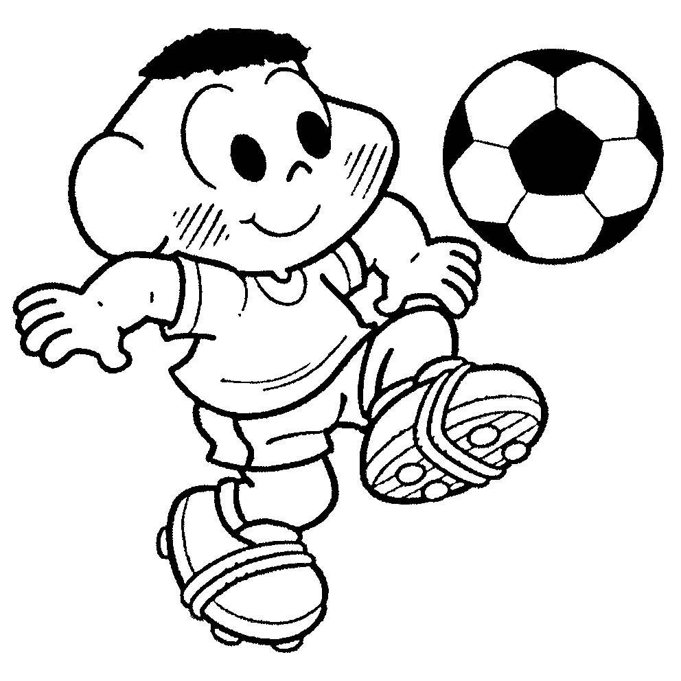 Desenhos De Jogador De Futebol Para Colorir Tudodesenhos