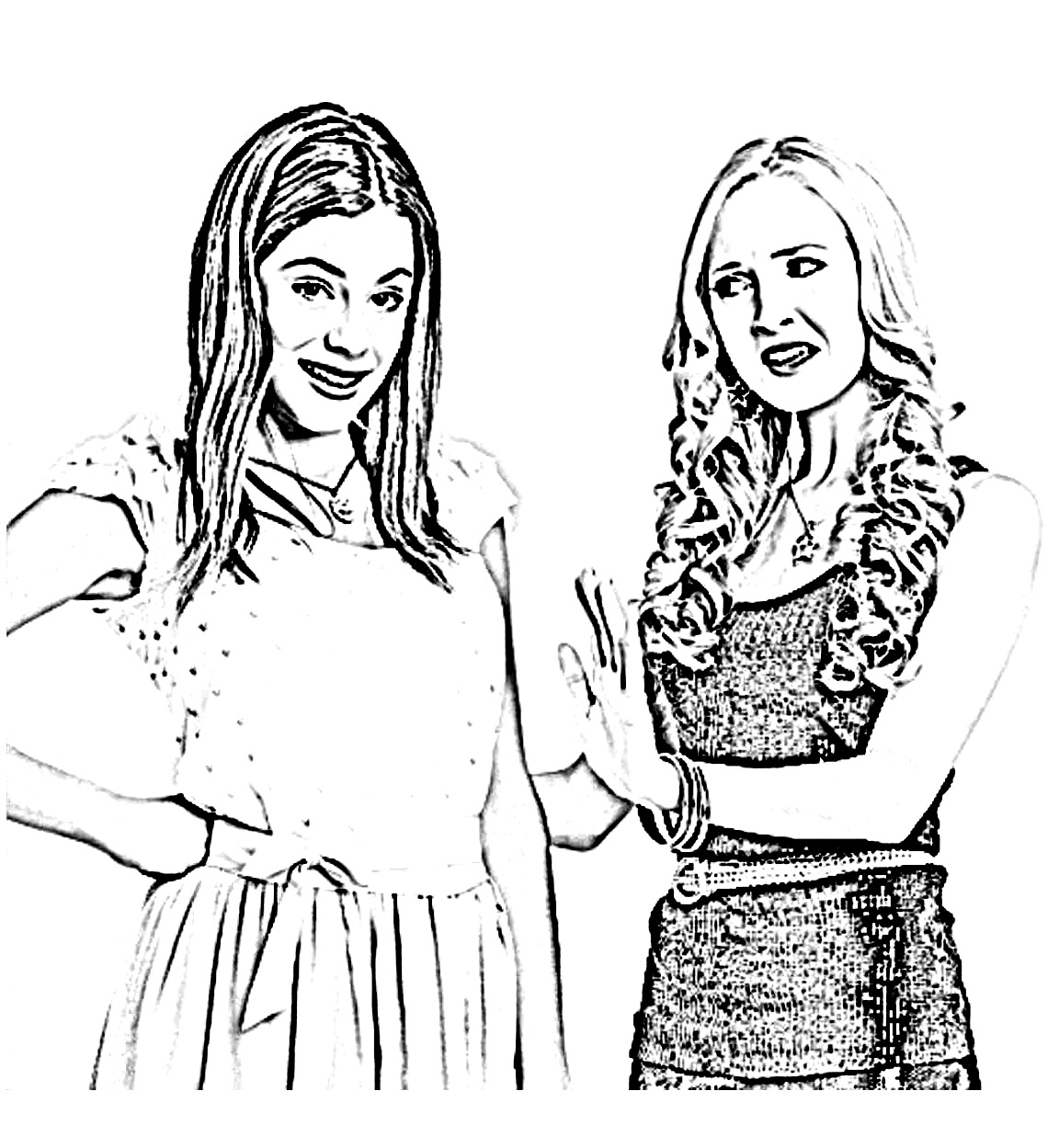 violetta coloring pages - photo#28