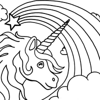 desenho de fada dora e unicórnio para colorir tudodesenhos