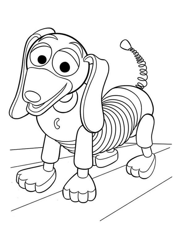 desenho de cachorro do toy story para colorir tudodesenhos