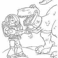 Desenho De Tiranossauro Rex Para Colorir Tudodesenhos