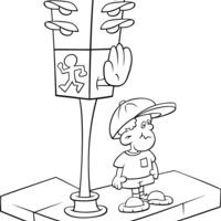 desenho de sem foro para colorir   tudodesenhos