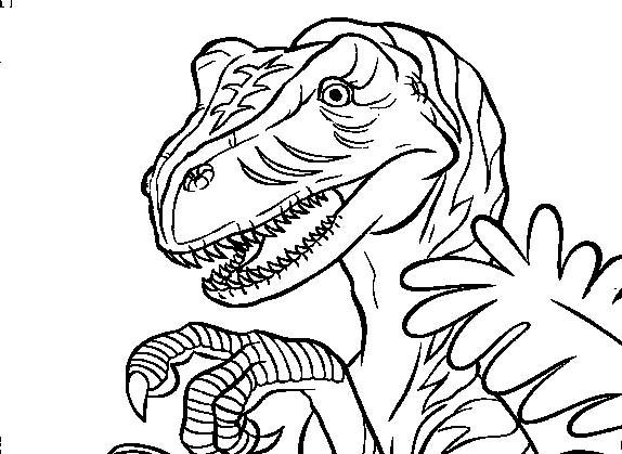 desenho de dinossauro carnívoro para colorir tudodesenhos