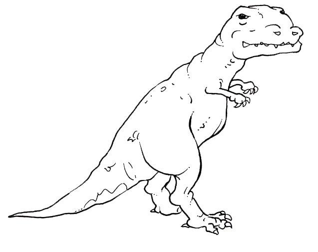 Desenho De Dinossauro Lagarto Para Colorir Tudodesenhos