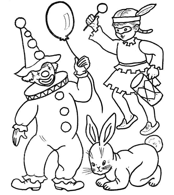 Desenho De Fantasias De Carnaval Para Colorir Tudodesenhos