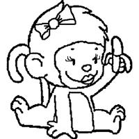 Desenhos De Macaco Para Colorir Tudodesenhos