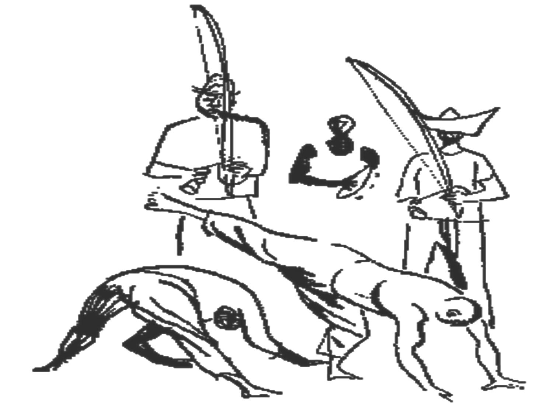 Desenho De Capoeira E O Cantador Para Colorir Tudodesenhos