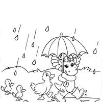 desenhos de primavera para colorir tudodesenhos