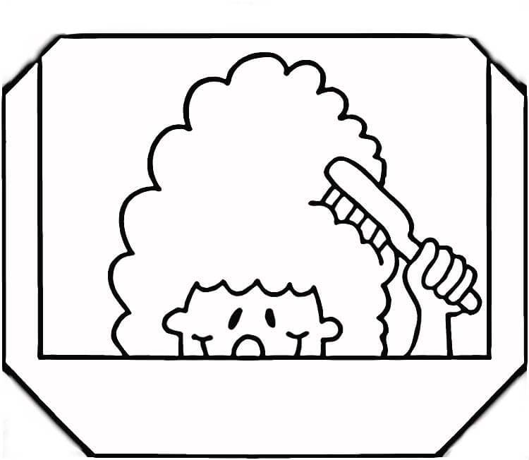 Brushing Teeth coloring page  Free Printable Coloring Pages